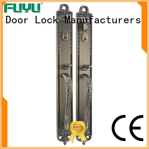 FUYU high security zinc alloy door lock for wooden door on sale for shop