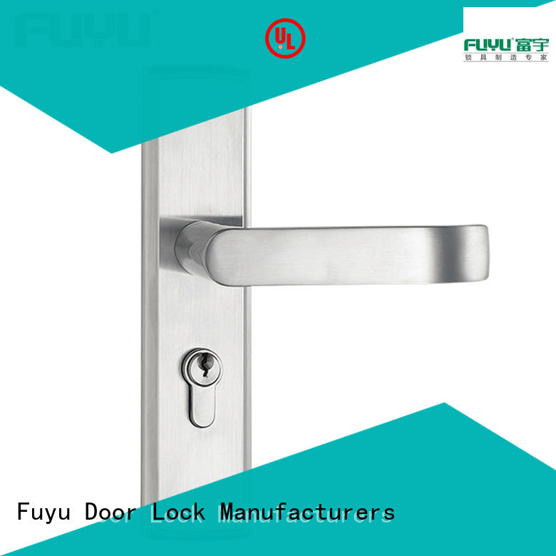 FUYU mortise lock handle extremely security for residential