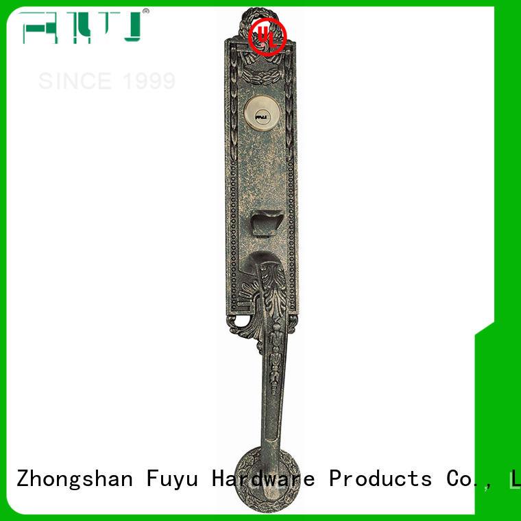 bathroom door handle with lock zinc mall FUYU