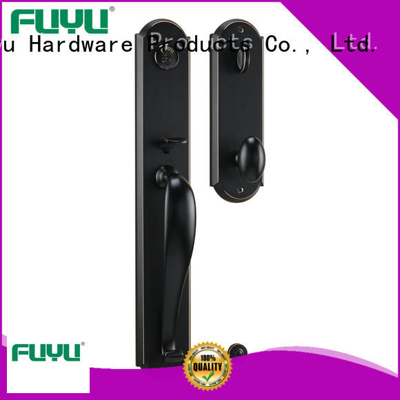 FUYU quality zinc alloy door lock for wooden door meet your demands for entry door