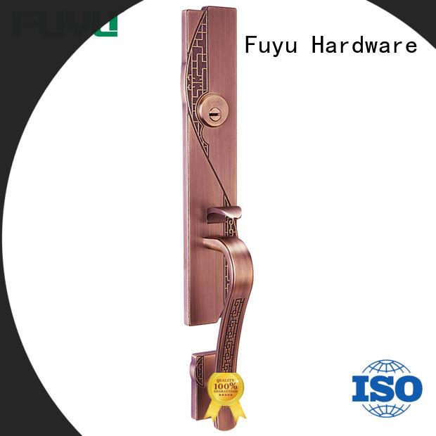 zinc alloy villa door lock sale for shop FUYU