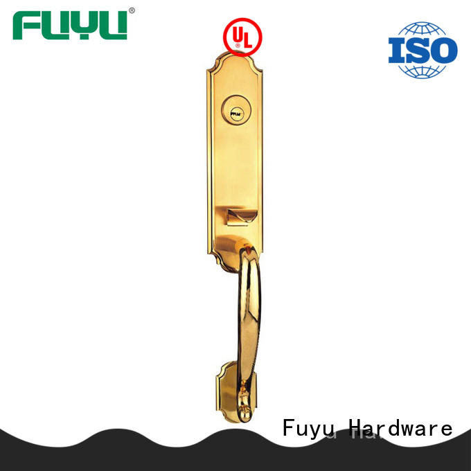 FUYU locks zinc alloy door lock for wood door with latch for indoor