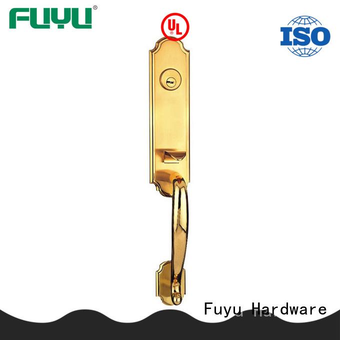 FUYU locks zinc alloy door lock for wood door with latch for indoor