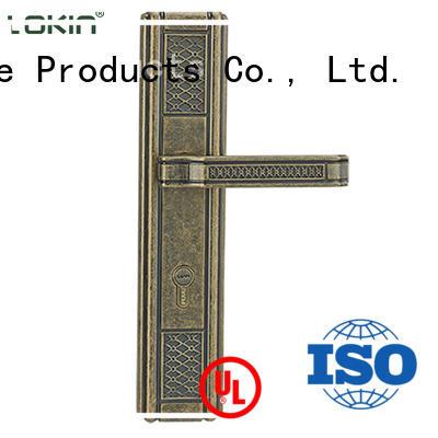 FUYU alloy door handle lock on sale for shop