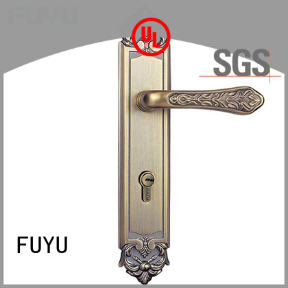 FUYU panel lever handle door lock extremely security for residential