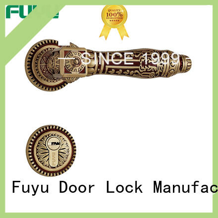 FUYU rosette lock supplier for entry door