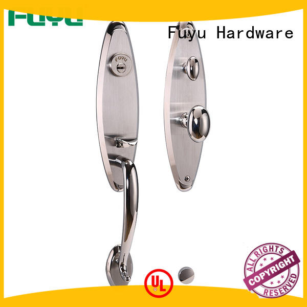 Stainless steel 304 grip handle lock for entrance door