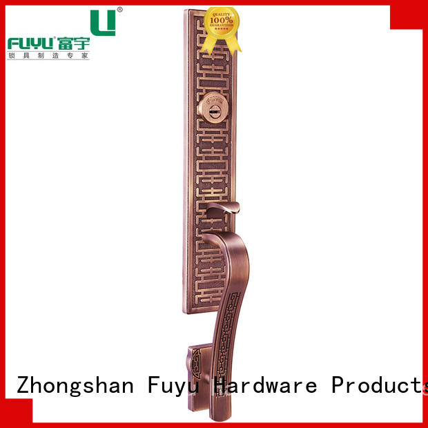 FUYU high security zinc alloy lock on sale for entry door