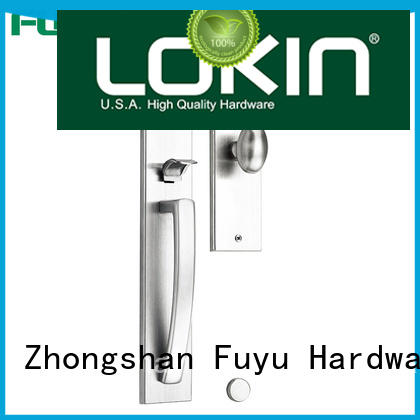FUYU security stainless steel door locks with international standard for mall
