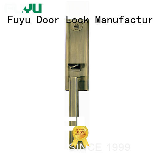 FUYU european zinc alloy door lock for timber door on sale for mall