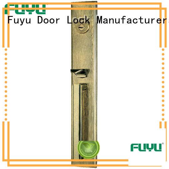 FUYU quality zinc alloy door lock for metal door on sale for shop