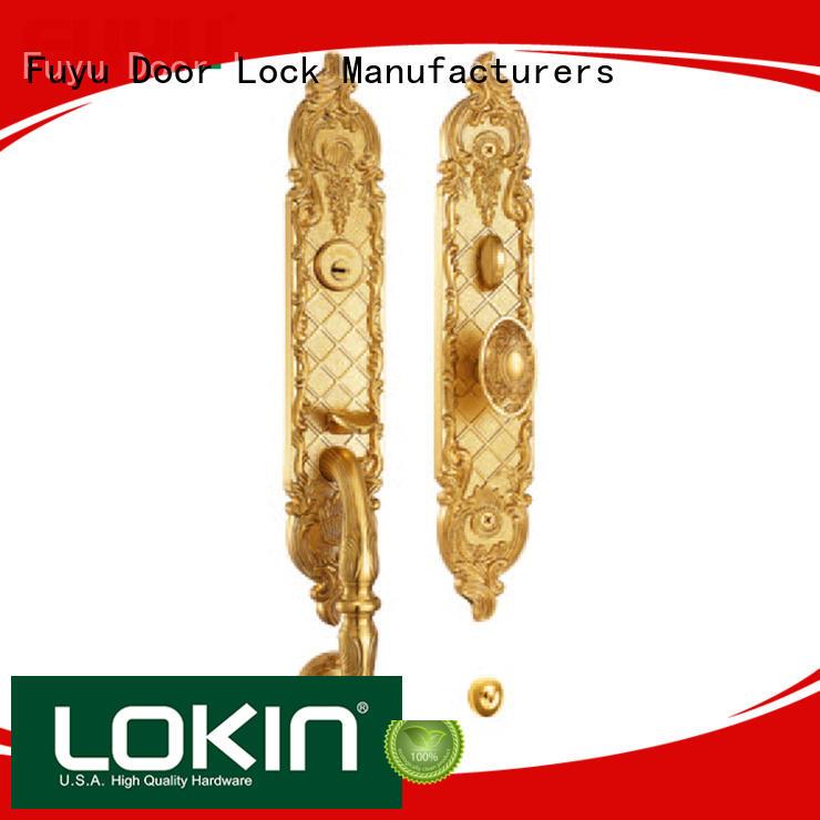 FUYU custom grip handle door lock manufacturer for mall