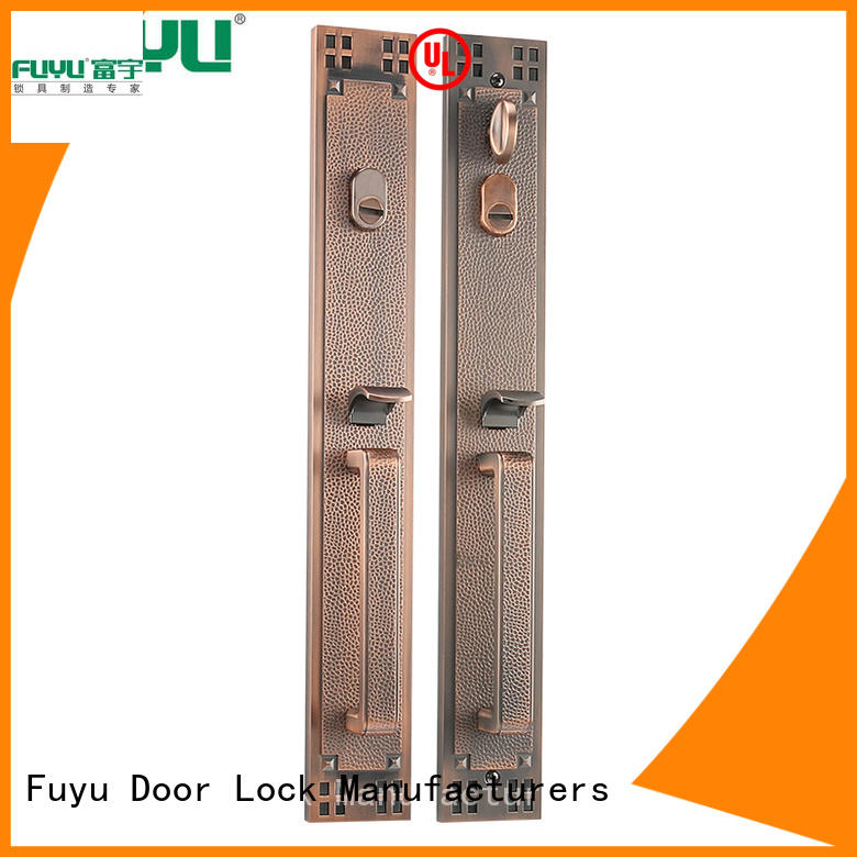FUYU oem american door lock for sale for shop