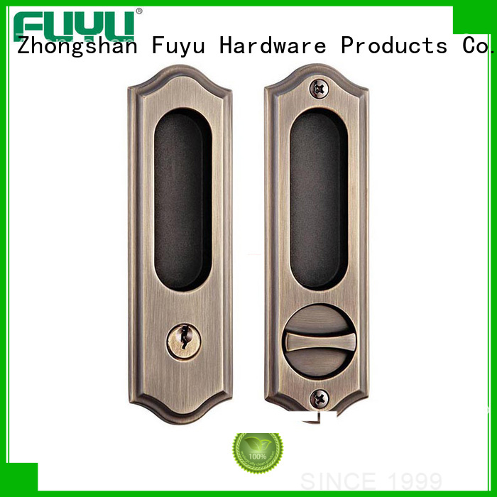 exterior sliding door handle with lock supplier for mall