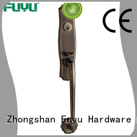 FUYU zinc zinc alloy door lock meet your demands for mall