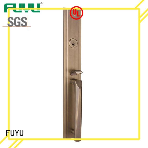 Factory OEM Full Set Luxury Zinc Alloy Mortise Grip Entrance Door Lock