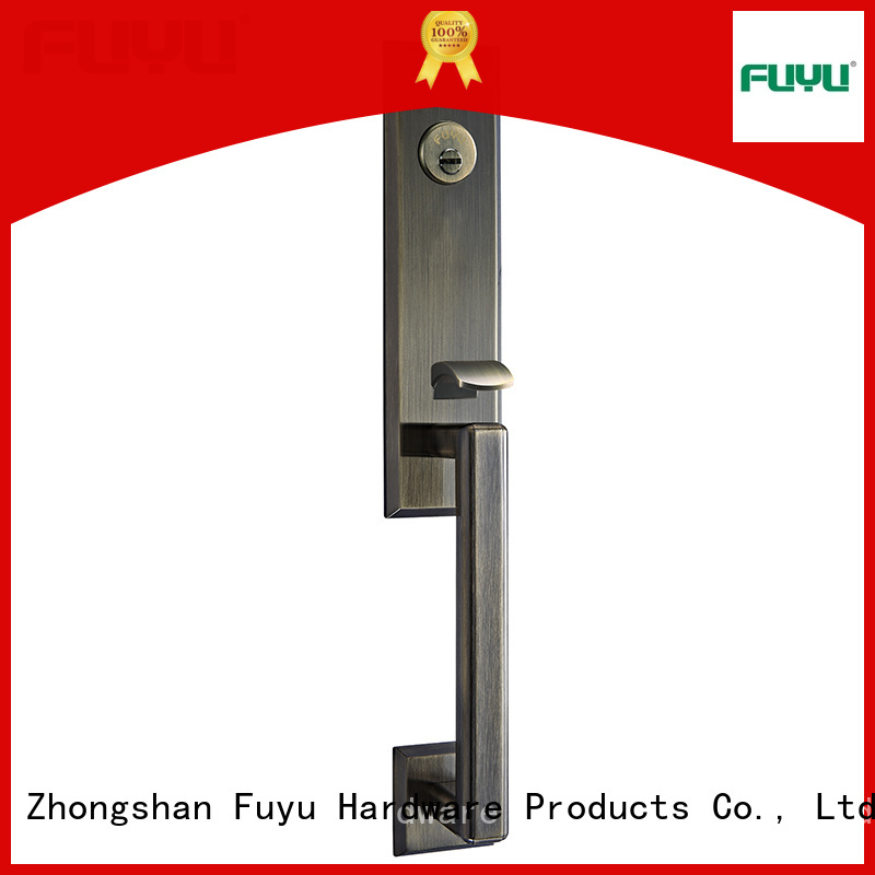 FUYU quality handle door lock supplier for home