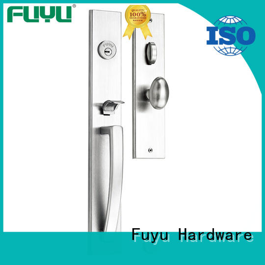 Stainless Steel 304 Single Cylinder Mortise Handle set Locks