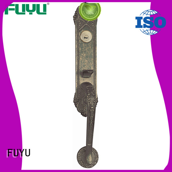 FUYU quality zinc alloy lock with latch for shop