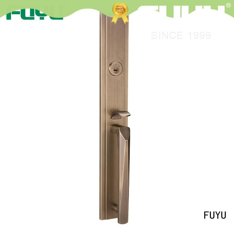 FUYU high security zinc alloy mortise door lock easy for entry door