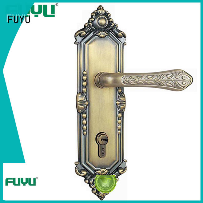 FUYU quality mortise handle lock on sale for entry door