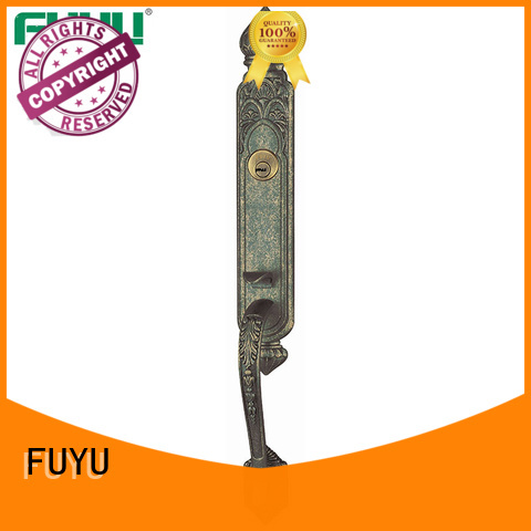FUYU double zinc alloy villa door lock residence home