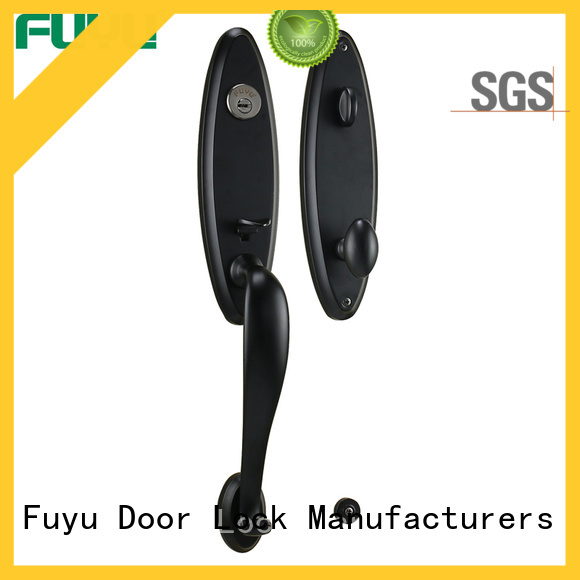 FUYU quality grip handle door lock supplier for home