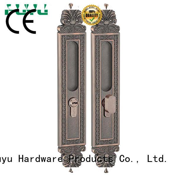 high security zinc alloy door lock for metal door finish on sale for shop