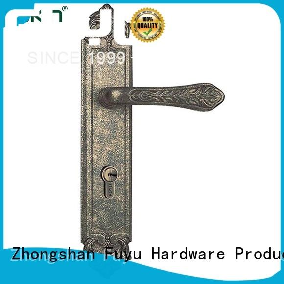 high security zinc alloy door lock for timber door key on sale for mall