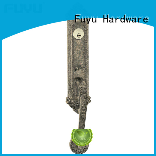 zinc alloy door lock for wood door look factory FUYU