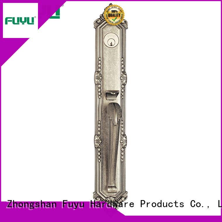 FUYU kits zinc alloy door lock for metal door meet your demands for indoor