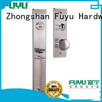FUYU wooden stainless door lock on sale for home
