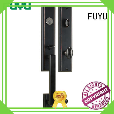 FUYU online door handle lock with latch for indoor