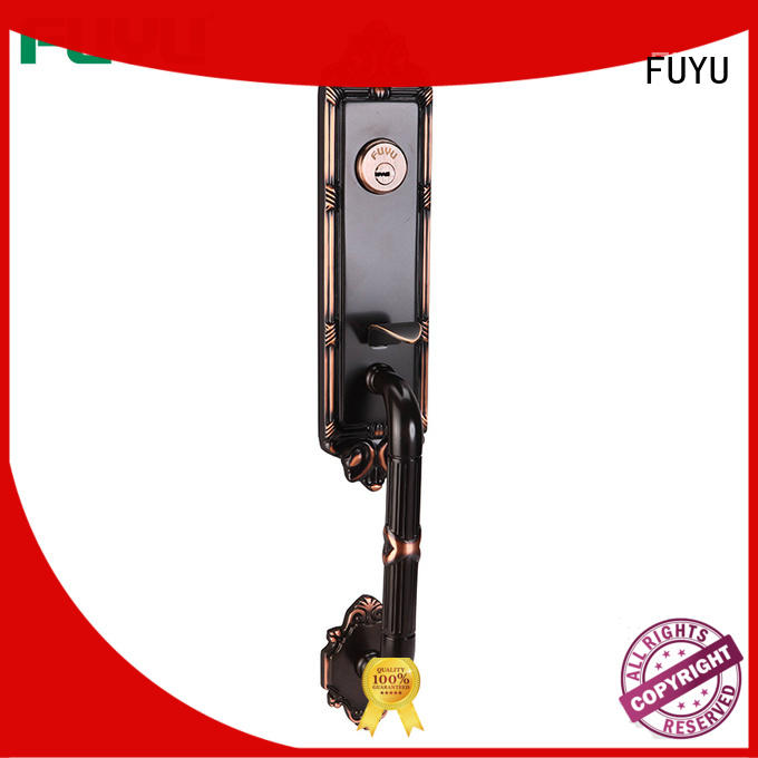 FUYU quality brass door lock with latch for home