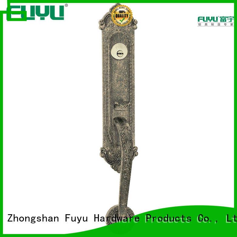 FUYU brass mortise latch set ansi for shop