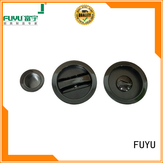FUYU exterior sliding door handle with lock for sale for mall