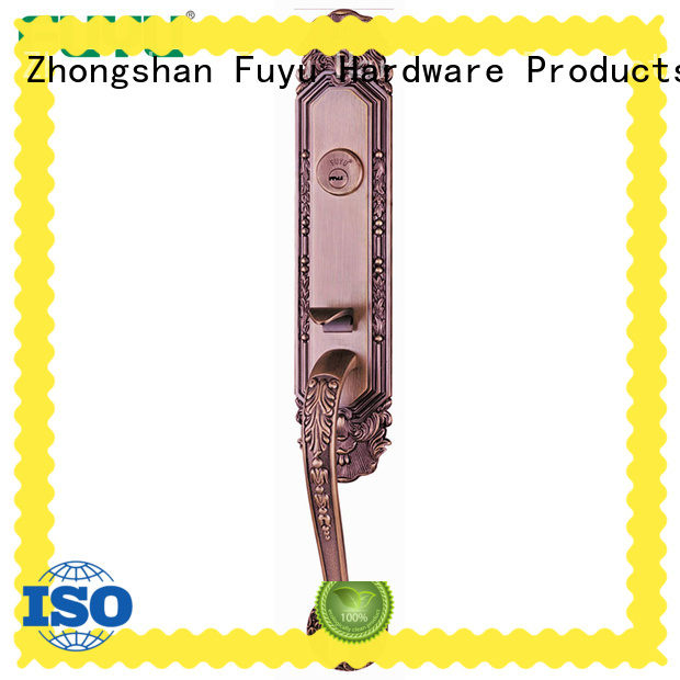 Chinese Security Double Exterior Handle Doors Locks For Villa Residence