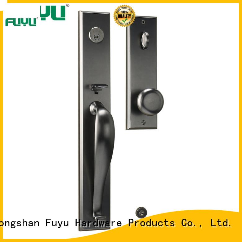 FUYU brass exterior door locks meet your demands for home