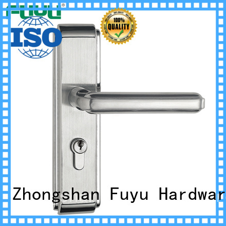 FUYU electric customized stainless steel door lock with international standard for residential