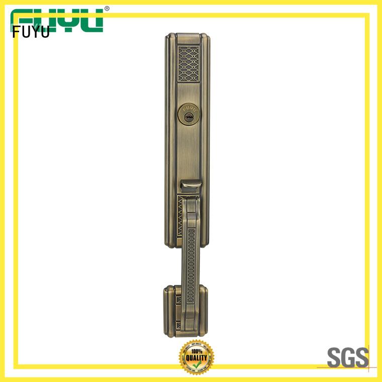 FUYU durable door lock front for entry door