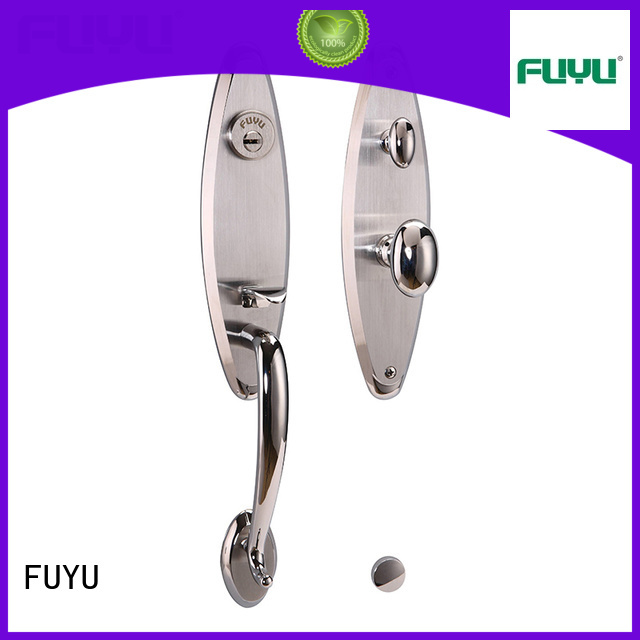 mortise stainless steel door locks with international standard for mall FUYU
