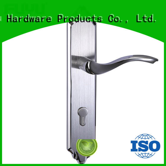 FUYU handle stainless steel handle door locks extremely security for mall