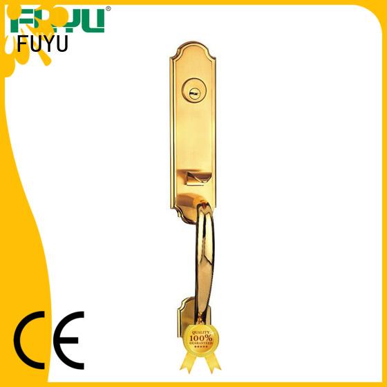 FUYU high security zinc alloy door lock for wooden door meet your demands for entry door