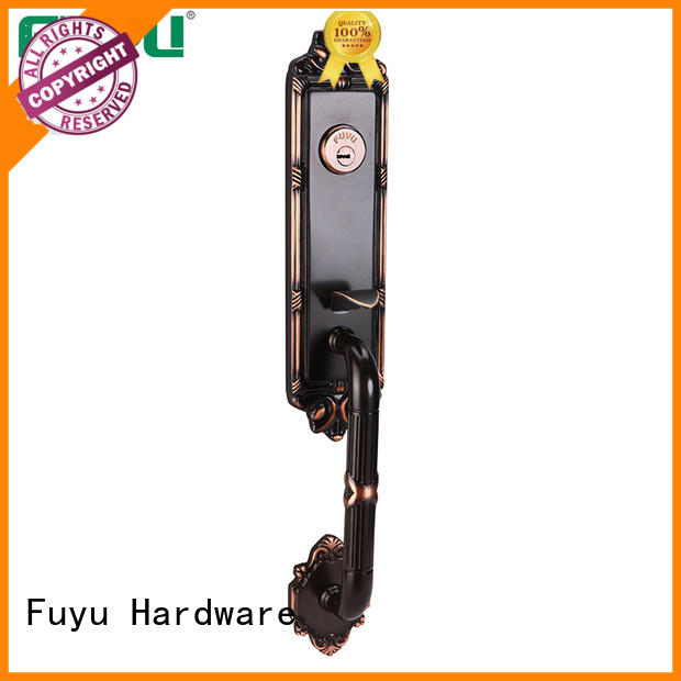 FUYU grade lock manufacturing with international standard for wooden door