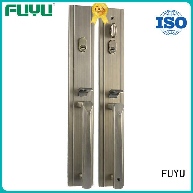 FUYU handle door lock manufacturer for shop