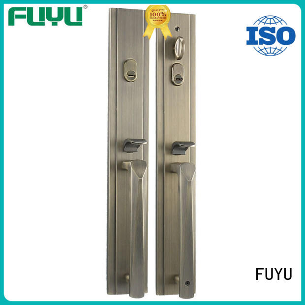FUYU handle door lock manufacturer for shop
