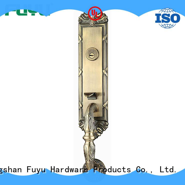 FUYU oem zinc alloy lock on sale for mall