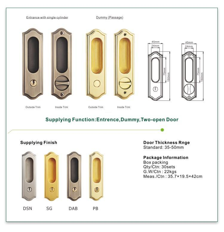 FUYU quality zinc alloy door lock for wooden door meet your demands for entry door-1